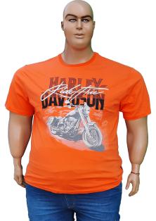 мужская футболка Harley Davidson большого размера