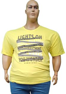супер батальный размер RAMON MIELE футболки