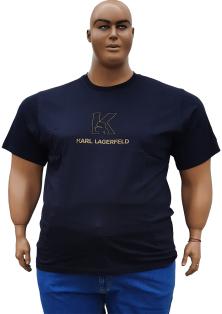 Карл Лагерфельд мужские футболки больших размеров