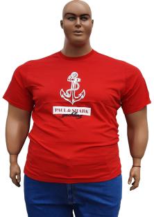 Paul Shark большого размера мужская футболка