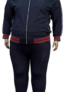 PHILIPP PLEIN трикотажный спортивный костюм большого размера