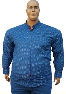 BETTINO длинный рукав стрейчевые  рубашки большой размер