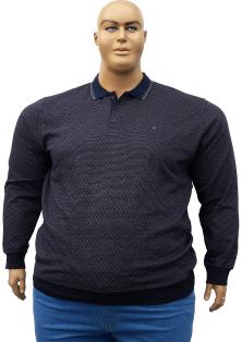 ANNEX мужской джемпер поло большого размера